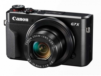 Canon PowerShot G7X Mark II + 16GB SD karta