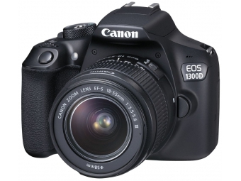 Canon EOS 1300D + EF-S 18-55 DC + 8GB SD karta + mikroutierka ZADARMO