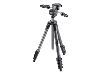 Manfrotto MKcompactADV-BK, statív radu COMPACT - ADVANCED, čierny