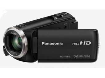 Panasonic HC-V180 (Full HD kamera, 1MOS, 50x zoom od 28mm, 2,7