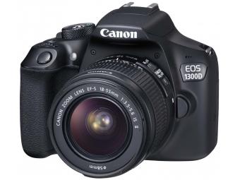 Canon EOS 1300D + EF-S 18-55 IS II Kit (Canon brašňa 100EG + 8GB SD karta + mikroutierka)