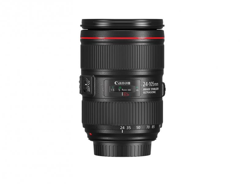 Canon EF 24-105mm f/4 L IS II USM (pri kúpe s fotoaparátom -80€ SPÄŤ)