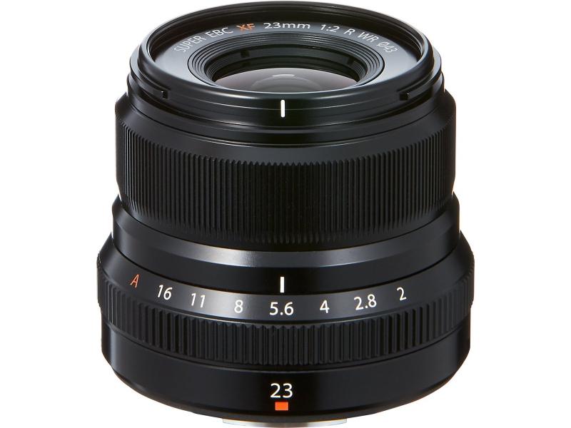 Fujifilm XF 23mm F2 R WR black