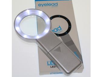 Eyelead osvetlená kruhová lupa 5x (8xLED)