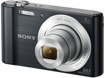 SONY DSC-W810B 20,1 MP, 6x zoom, 2,7