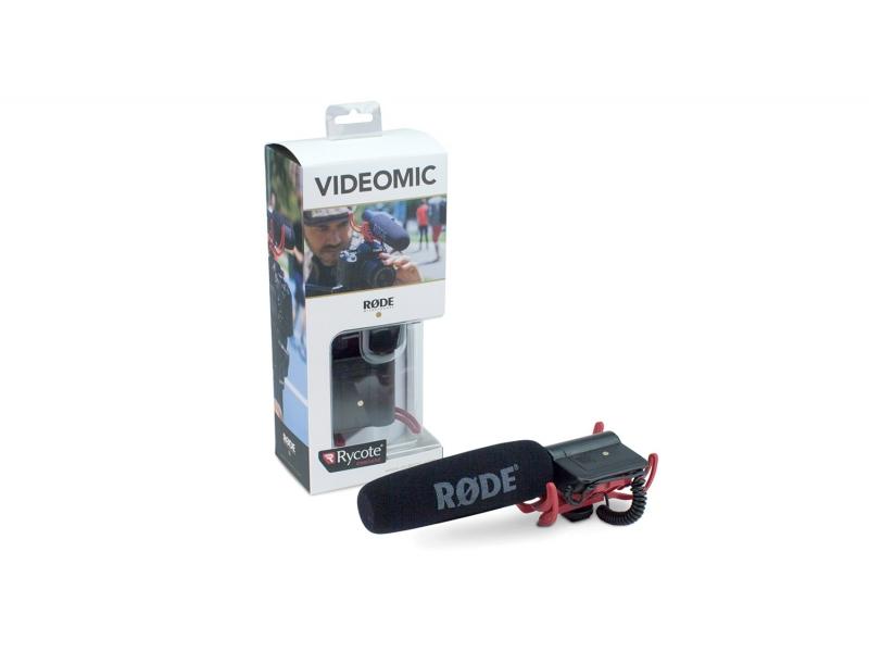 Rode VideoMic Rycote - smerový kondenzátorový mikrofón s odpružením Rycote