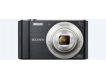 SONY DSC-W810P 20,1 MP, 6x zoom, 2,7