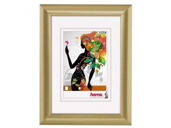 Hama 58516 rámček plastový MALAGA, zlatá, 10x15 cm