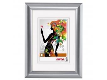 Hama 58524 rámček plastový MALAGA, strieborná, 10x15 cm
