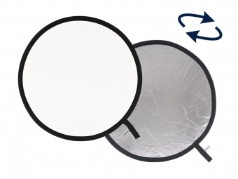 Lastolite Collapsible Reflector 30cm Silver/White (LR1231)
