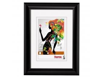 Hama 58500 rámček plastový MALAGA, čierna, 10x15 cm