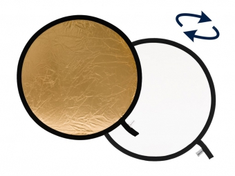Lastolite Collapsible Reflector 30cm Gold/White (LR1241)