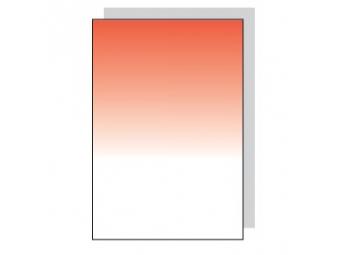 Fomei Graduated Red - 83x95mm SQ, červený prechodový filter