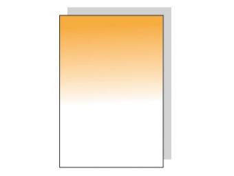 Fomei Graduated Orange - 83x95mm SQ, oranžový prechodový filter