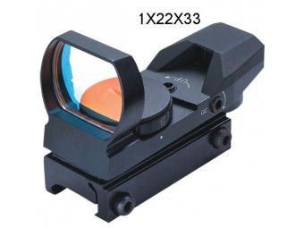 Fomei 1x22x33 mm kolimátor RED (13-14mm)