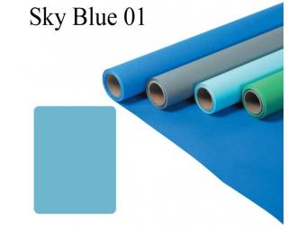 Fomei 1,35x11m SKY BLUE , papierová rola, fotografické pozadie
