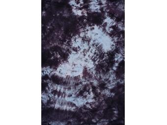 Fomei 2,7x2,9 m BATIK-hnědo-modrá, fotografické pozadie