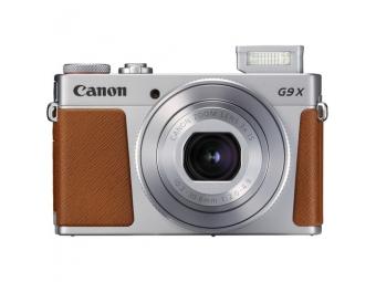 Canon PowerShot G9X II strieborný + Canon Púzdro DCC-1890