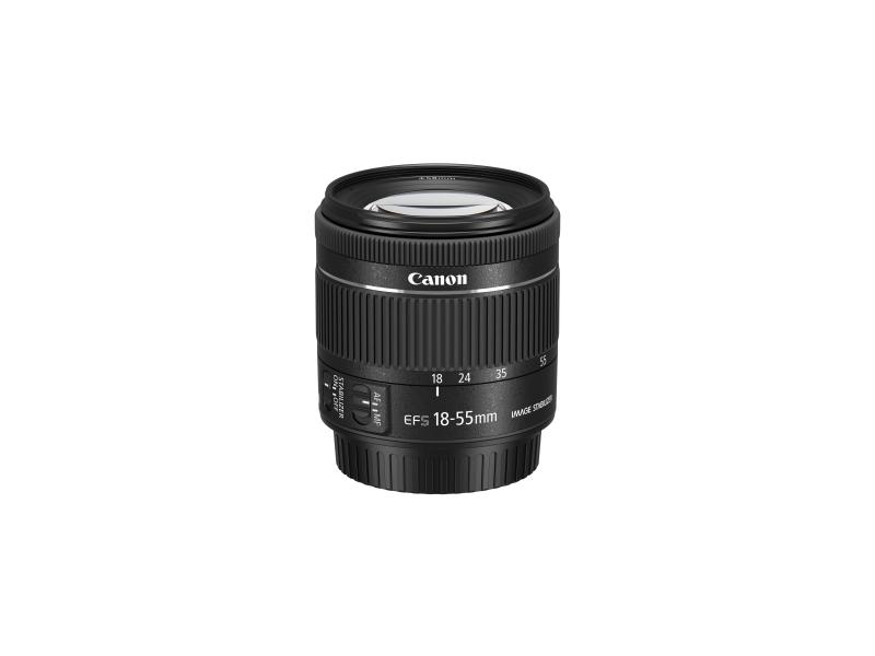 Canon EF-S 18-55mm f/4-5,6 IS STM (pri kúpe s fotoaparátom -20€ SPÄŤ)