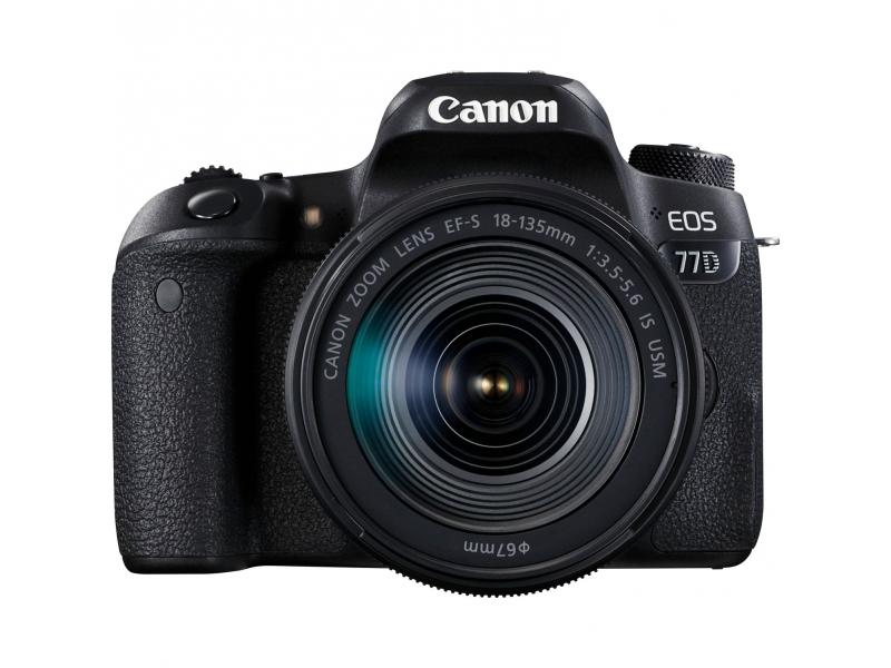 Canon EOS 77D + 18-135mm IS USM -100€ CASHBACK + 16GB SD karta +  (pri kúpe s objektívom až -1000€ SPÄŤ)