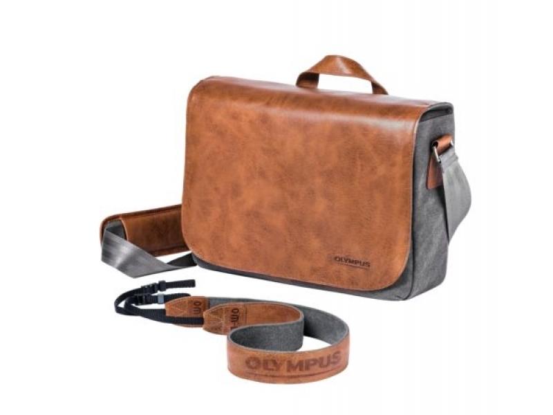Olympus OM-D Messenger Bag Leather incl. Strap