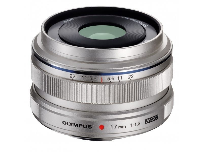 Olympus M.ZUIKO DIGITAL 17mm 1:1.8 strieborný -100€ okamžitá zľava