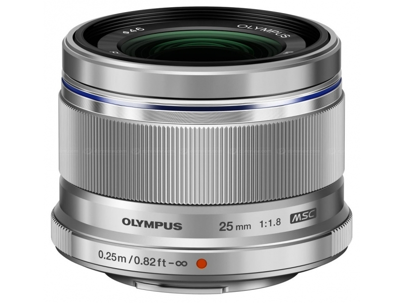 Olympus M.ZUIKO DIGITAL 25mm 1:1.8 strieborný -100€ okamžitá zľava