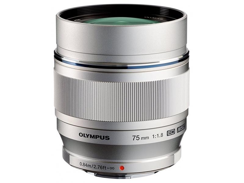 Olympus M.ZUIKO DIGITAL ED 75mm 1:1.8 strieborný -100€ okamžitá zľava
