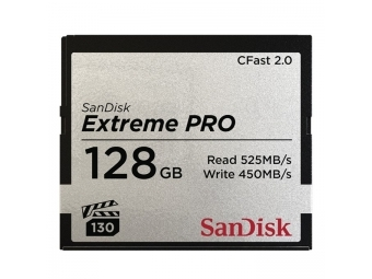 SanDisk CFast 2.0 128GB Extreme Pro 525 MB/s