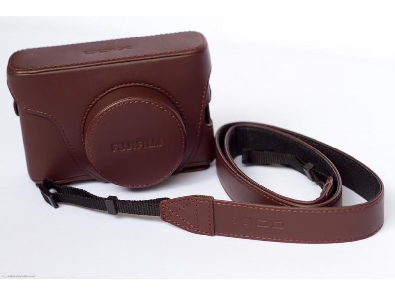 Fujifilm LC-X100F kožené púzdro pre X100F hnedé