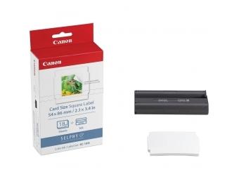Canon Foto papier KC18IS pre Selphy CP (18ks) + držiak papier PCC-CP400