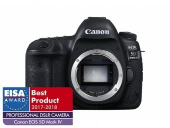 Canon EOS 5D Mark IV + blesk 430EX alebo statív ZADARMO + (pri kúpe s objektívom až -1000€ SPÄŤ)