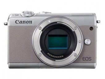 Canon EOS M100 telo sivá