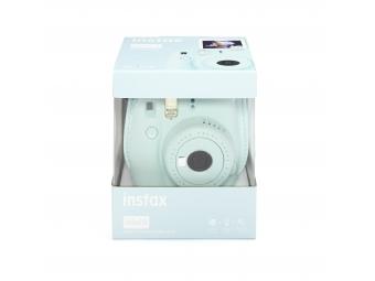 Fujifilm Instax mini 9 svetlo modrý + púzdro + film na 10 fotografií