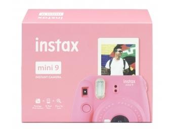 Fujifilm Instax mini 9 ružový + film na 10 fotografií