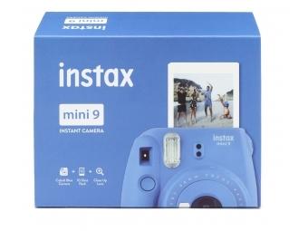 Fujifilm Instax mini 9 tmavo modrý + film na 10 fotografií