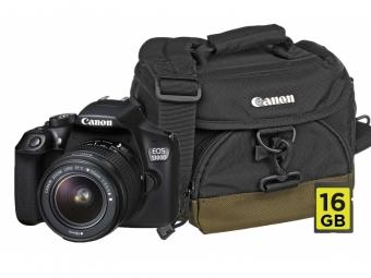 Canon EOS 1300D + EF-S 18-55 DC Kit + (Canon brašňa 100EG + 16GB SD karta + mikroutierka)