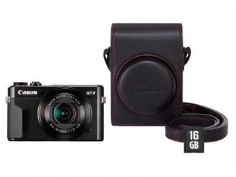 Canon PowerShot G7X Mark II -30€ CASHBACK + púzdro DCC-1880 + karta SD 16GB