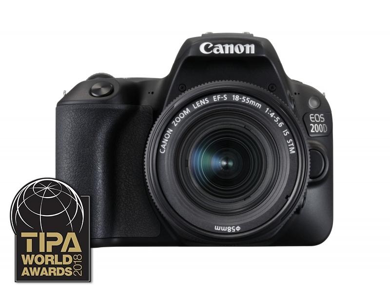 Canon EOS 200D + EF-S 18-55mm f/4-5,6 IS STM -50€ CASHBACK + Canon brašňa zadarmo