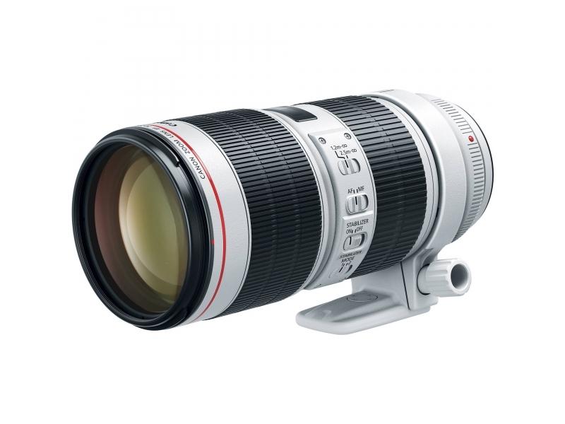 Canon EF 70-200mm f/2.8L IS III USM (pri kúpe s fotoaparátom -125€ SPÄŤ)
