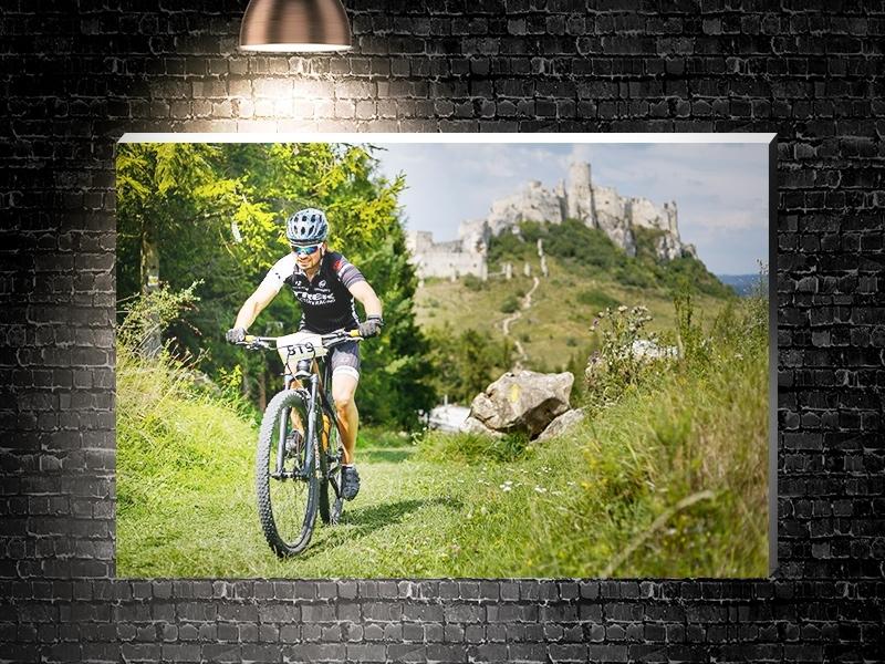 Fotografia na plátne v ráme 90x60cm Sport
