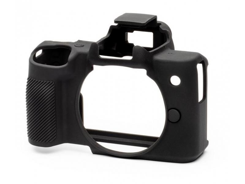 Easy Cover Reflex ochranný silikónový obal čierny pre Canon EOS M50