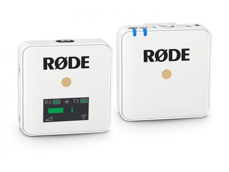 Rode Wireless GO, univerzálny bezdrôdový mikrofónny set, biely