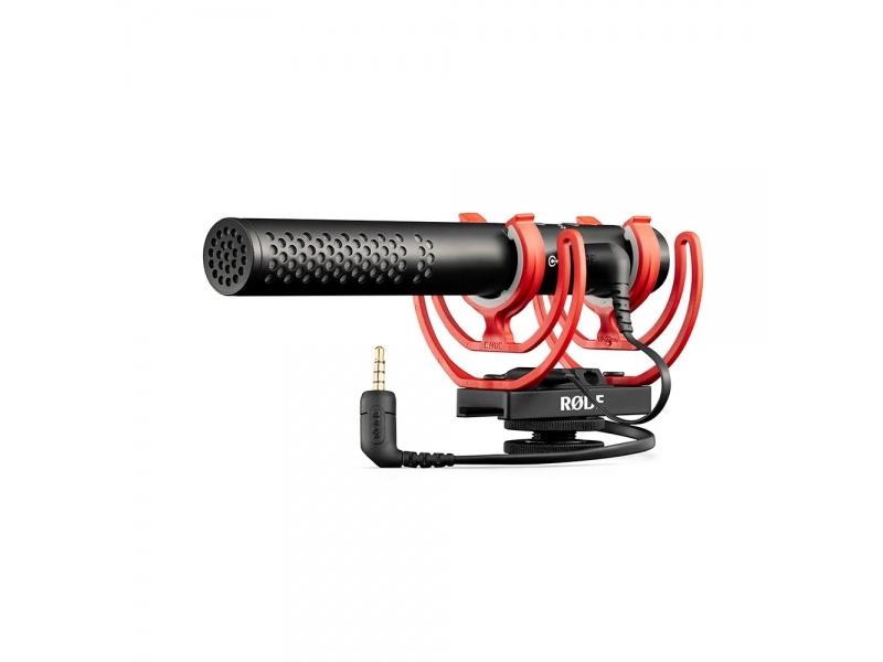 Rode VideoMic NTG - smerový profi mikrofón pre DSLR, kondenzátor, Rycote odpruženie