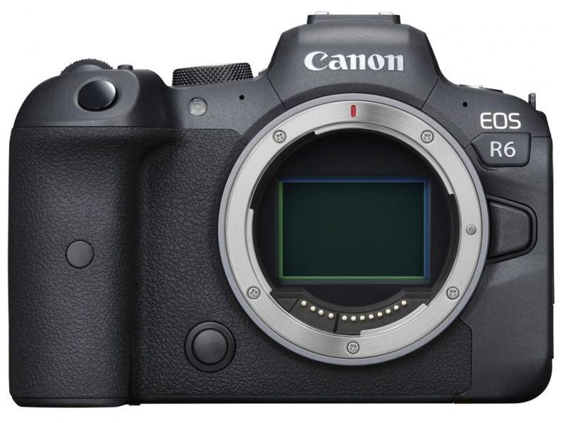 Canon EOS R6 telo -250€ CASHBACK + 64GB SD karta Sandisk ZADARMO