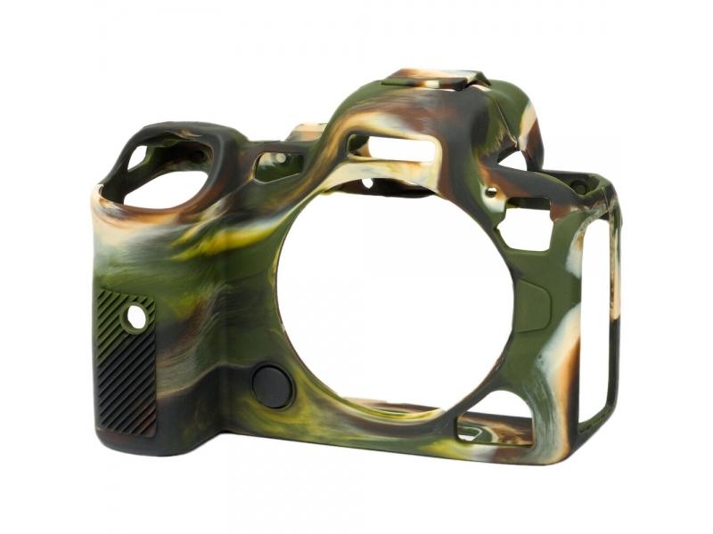 Easy Cover Reflex ochranný silikónový obal Camouflage pre Canon EOS R5 a EOS R6