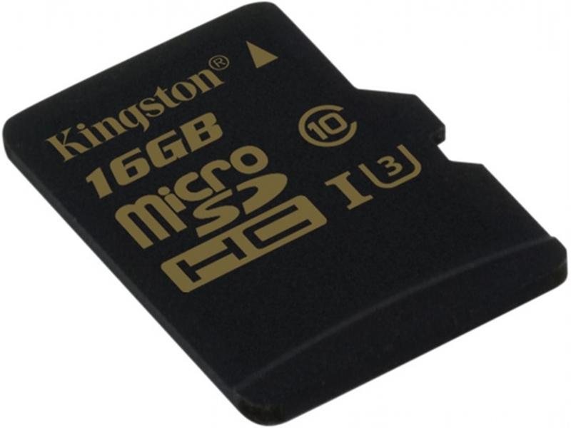 Kingston 16gb Microsdhc Karta Uhs I Class 3 U3 Citanie 90mb S